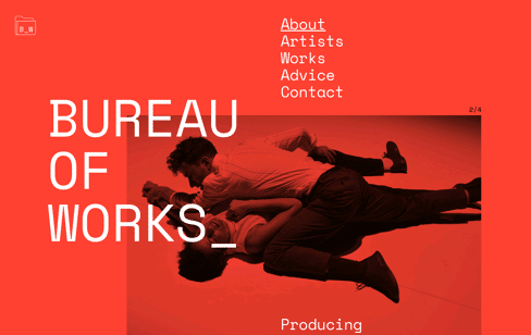 Bureau of Works Web Design