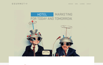 Gourmet Marketing Web Design