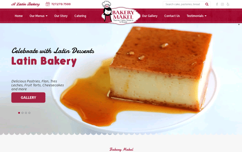 Bakery Makel Web Design