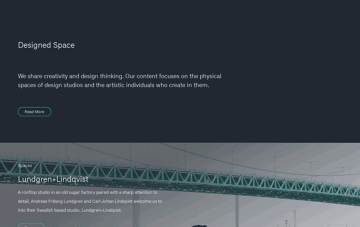 Designed Space  Web Design