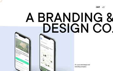 DELT // The Best St. Louis Web Designers & Branding Agency Web Design