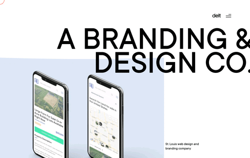 DELT // The Best St. Louis Web Designers & Branding Agency Web Design