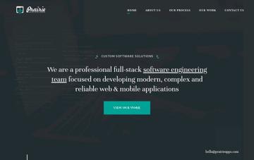 Prairie Applications Web Design
