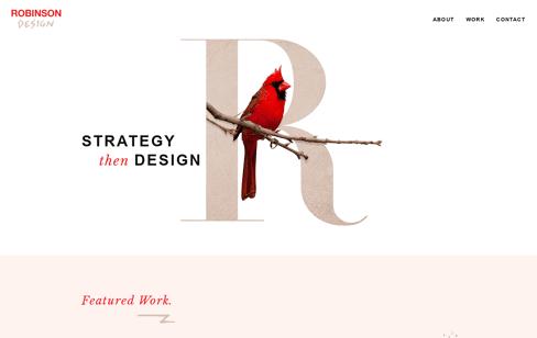 Robinson Design Web Design