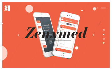 Portfolio of Shaun Scholtz UX designer Web Design