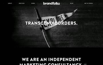 Brandfolks marketing consultancy Web Design