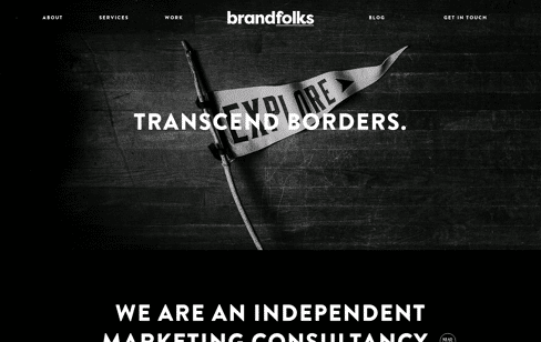 Brandfolks marketing consultancy Web Design