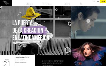 Centro Roberto Garza Sada Web Design