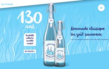Limonades la Beauceronne Web Design