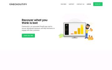 Checkoutify Web Design