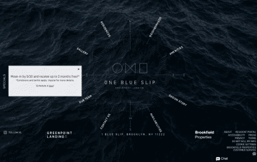 One Blue Slip Web Design