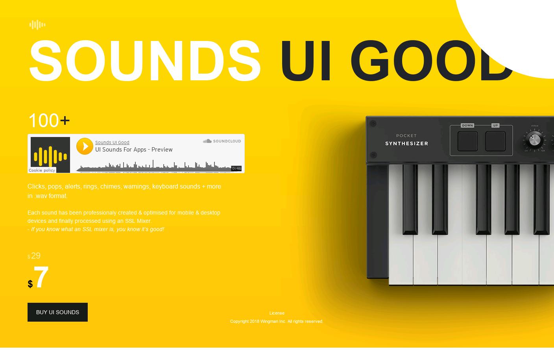 Sounds UI Good