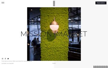 Mission + Market Web Design