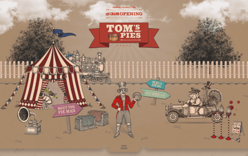 Tom's Pies Web Design