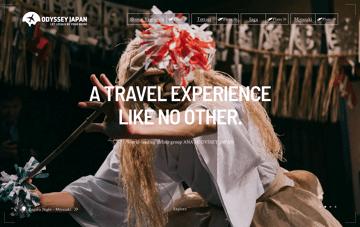 ODYSSEY JAPAN Web Design