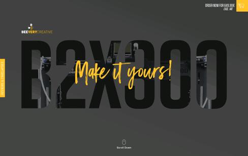 B2X300 Web Design