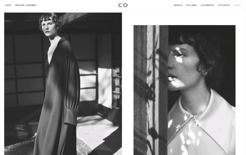co-collections Web Design