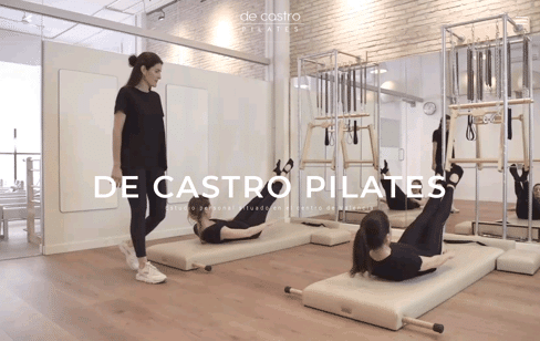 DE CASTRO PILATES Web Design