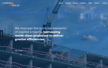 Carron & Walsh Web Design