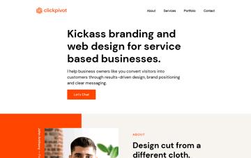 Clickpivot Marketing Agency Web Design