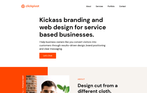 Clickpivot Marketing Agency Web Design