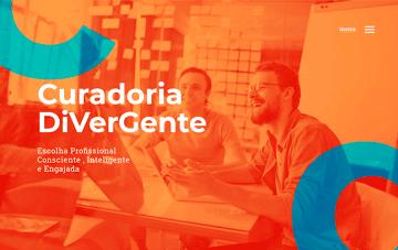 Curadoria DiVerGente Web Design