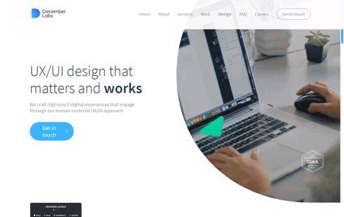 December Labs Web Design
