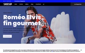 SHOES UP Web Design