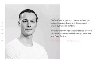 Stefan Kaltenegger Web Design