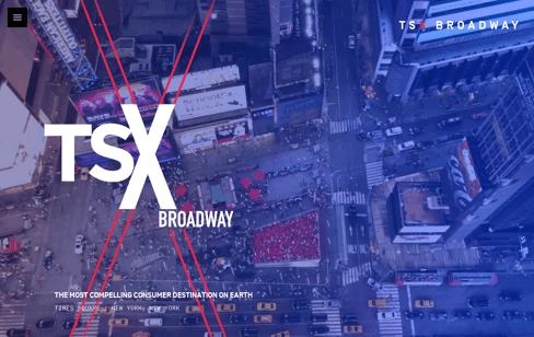 TSX Broadway Web Design