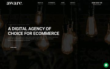 aware digital Web Design