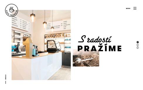 Kafe Francin Web Design