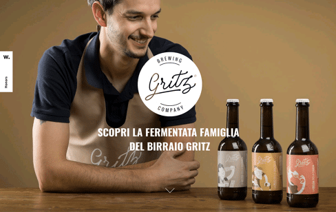 Gritz Brewing Web Design