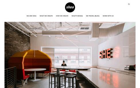 Shea Design Web Design