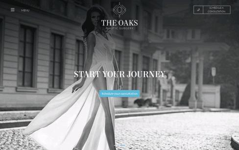 The Oaks Plastic Surgery Web Design