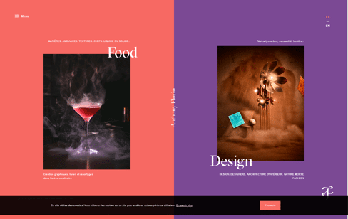 Anthony Florio Web Design