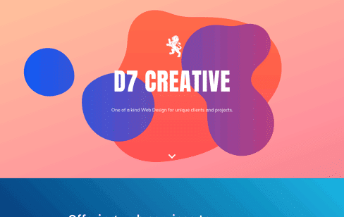 D7 CREATIVE Web Design