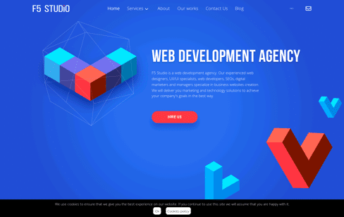 F5 Studio Web Design