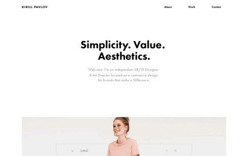 Kirill Pavlov Web Design