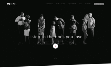 MED-EL Web Design