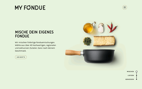 MyFondue Web Design