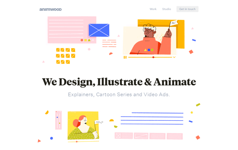 Animwood Web Design