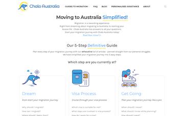 Chalo Australia  Web Design