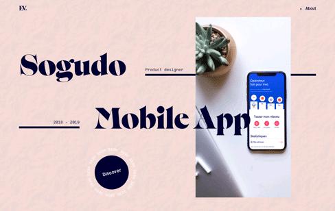 Evie Bauland Portfolio Web Design