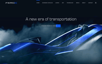 Ferox  Web Design