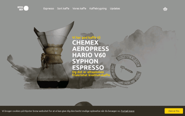 Hipster Brew Web Design