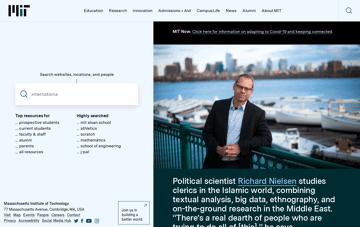 MIT  Web Design