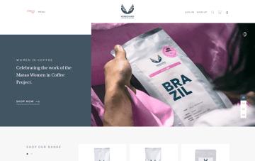 Veneziano Coffee Roasters Web Design
