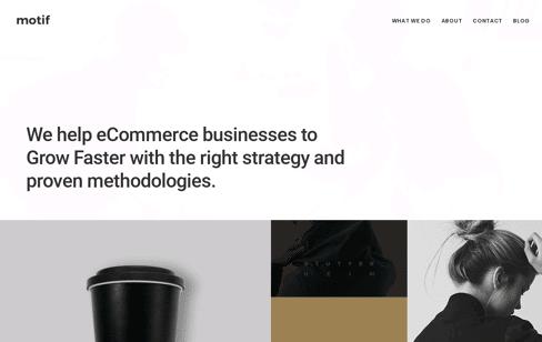 Motif Web Design