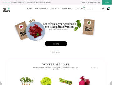 AllThatGrows Web Design